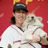 Tim Lincecum Helps Really Sweet Elderly Dog Find a New Home
