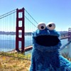 Cookie Monster Visits San Francisco