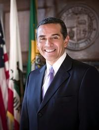 Los Angeles Mayor Antonio Villaraigosa isn't going anywhere...