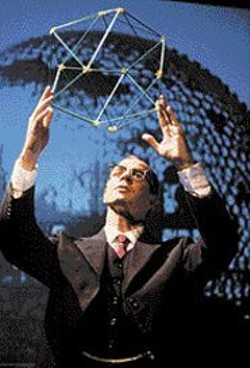 DAVID  ALLEN - Lucky Bucky: Though he has more hair than the - original, Ron Campbell plays R. Buckminster Fuller - admirably.