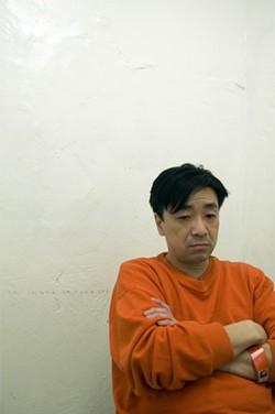 EARTHA GOODWIN - Lum looking pensive during a jailhouse interview.