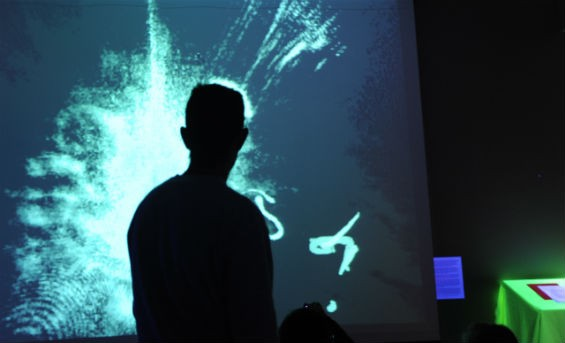 Lumisketch (audience-interactive projections) - UCSC MECHATRONICS GROUP