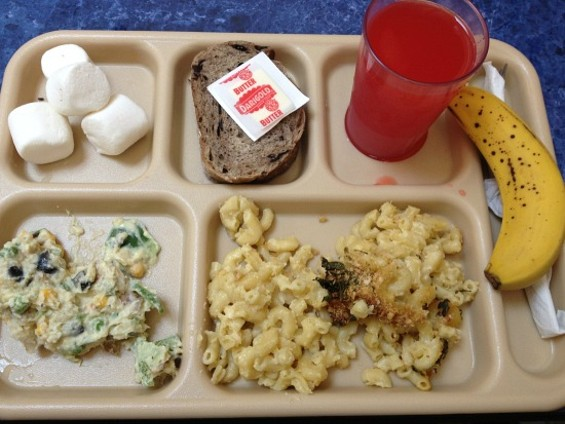 Lunch today at St. Anthony's - ANNA ROTH