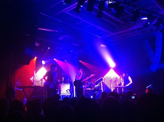 M83 at Mezzanine last night.