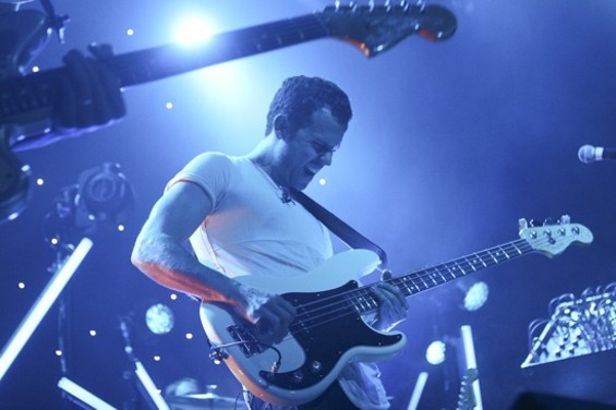 M83 at the Fillmore last night. - CHRISTOPHER VICTORIO