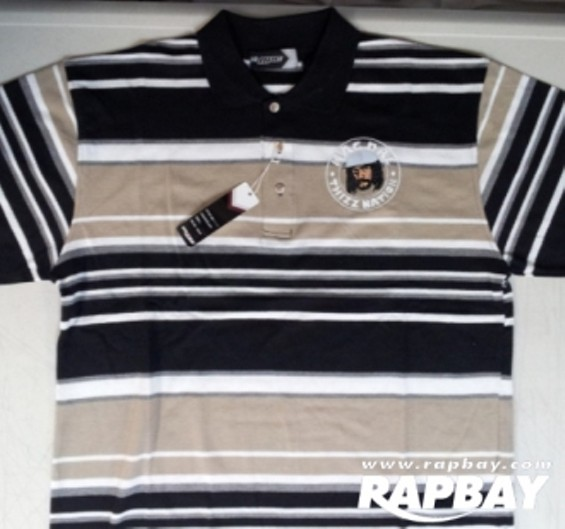 Mac Dre Polo Stripe shirt by Thizz Clothing. - RAPBAY.COM