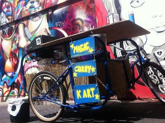 Magic Curry Kart rides again. - BRIAN KIMBALL