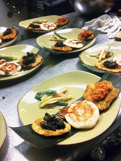 CONSTANZA ORTIZ - Maite Catering expands its reach — and your palate.