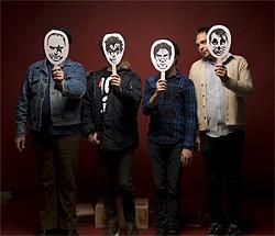 Mannequin Men behind the masks.