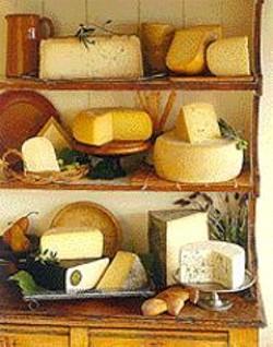 Many, many cheeses.
