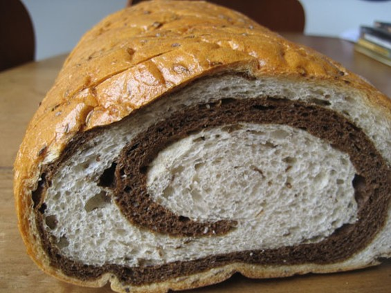 Marble rye from House of Bagels. - JONATHAN KAUFFMAN