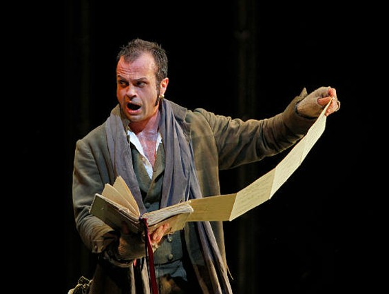 Marco Vinco as Leporello - CORY WEAVER
