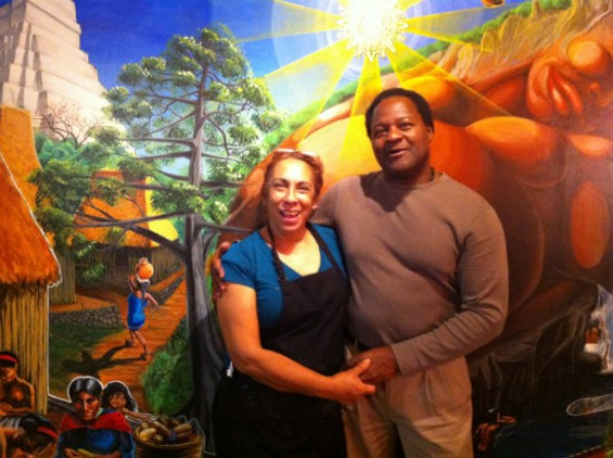 Maria Delgadillo and Ken Lewis have kept La Familia a neighborhood favorite for seventeen years. - MOLLY GORE