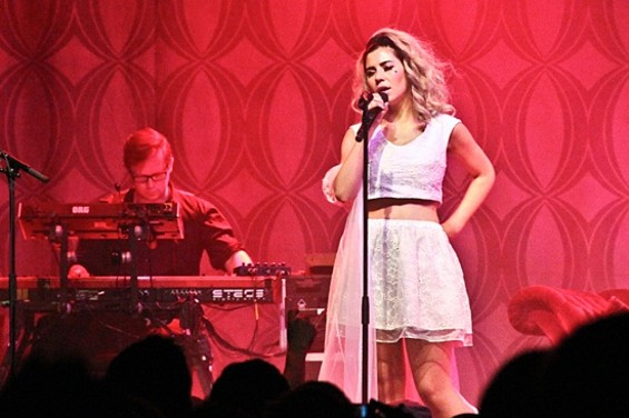 Marina and the Diamonds at the Fillmore last night. - ANDREW LOPEZ