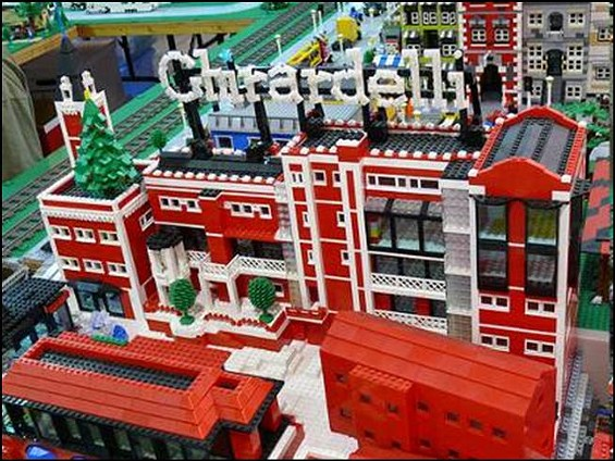 Mark Benz' masterful recreation of Ghirardelli Square and other city landmarks were stolen out of his truck last week - COURTESY BENZ FAMILY