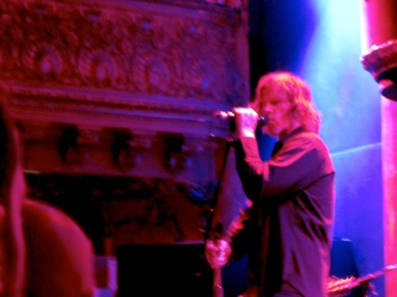 Mark Lanegan at Great American Music Hall last night. - BRI DE LIBERTIS