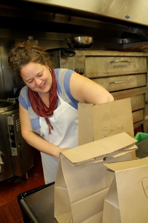 Marla Bakery's Amy Brown. - ALEXIS KATSILOMETES