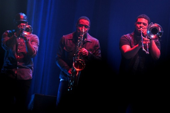 Mars' horn section - CALIBREE PHOTOGRAPHY