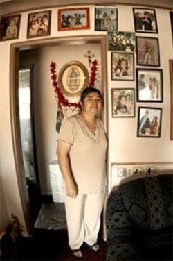 JAMES  SANDERS - Martha Ornelas' son was deported in January.