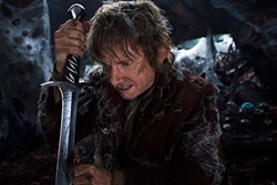 Martin Freeman is still exhausted after his slog through the first Hobbit movie, and there's still another one to go.