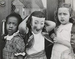 COURTESY OF THE CONTEMPORARY JEWISH MUSEUM - Marvin E. Newman, Halloween, - South Side, 1951.