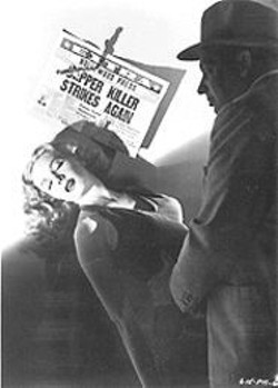 Mary Meade and Dennis OKeefe in T-Men.