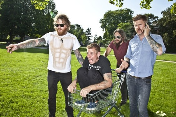 Mastodon (with Brann Dailor in the shopping cart): coming soon to a dented car near you. - CINDY FREY