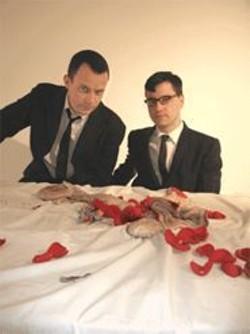 JAMES  STRANAHAN - Matmos' guts 'n' roses.