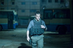 JASIN BOLAND - Matt Damon, full of righteous indignation in Iraq, begins to sense that the fix is in.