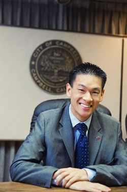 Mayor Evan Low would really like to donate blood. - EVAN LOW FACEBOOK PAGE
