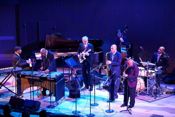 McCoy Tyner, Bobby Hutcherson, John Handy, Bill Frisell, Joshua Redman, Matt Penman and Eric Harland - SCOTT CHERNIS FOR SFJAZZ