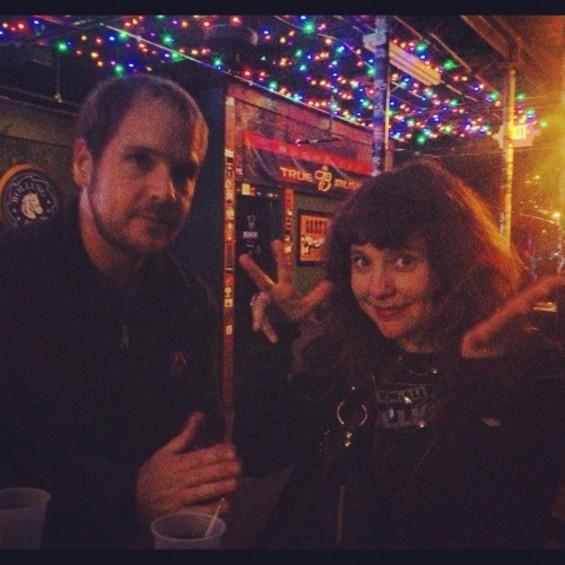 McDermott with drummer Ben Tuttle