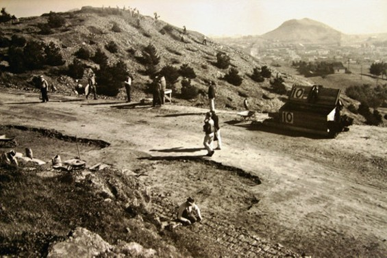 McLaren Park in the 1930s, back when few San Franciscans had appliances they could dump there - CALIFORNIA'S LIVING NEW DEAL PROJECT