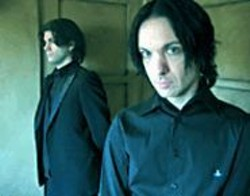Men in Black: Chris Vrenna (right) and Clint Walsh.