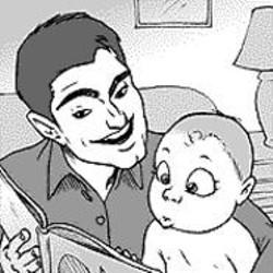 AARON  FARMER - Men in child care.