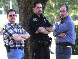 Mercury News executives pose with a local cop. WTF? - SANJOSEINSIDE.COM