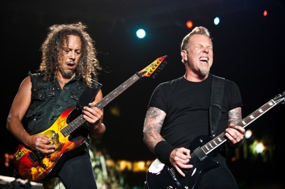 Metallica: Pushing 30.