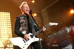Metallica ruled.