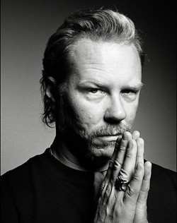 Metallica singer James Hetfield