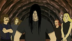 Metalocalypse's DethKlok: Making more money than real death metal.