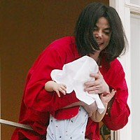 The 20 Worst Fathers in History Michael Jackson: If you didn't know about those persistent allegations of pedophilia, you'd think a man-child would make an OK dad. Toys! Games! A damn ranch with chimps! But then, you'd think a man-child would know better than to hang his infant son off of a balcony. At least he didn't toss him at a photographer.
