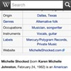 """Michelle Shocked's Wikipedia Page Was Briefly Updated to Call Her a """"Bigot"""""""