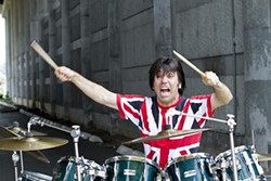 CYNTHIA SMALLEY AT FINE ART PHOTOGRAPHY - Mick Barry, the man of the telltale drums.