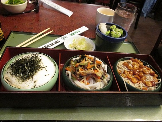 Mifune's Cold Soba and Udon Sampler Trio - TREVOR FELCH