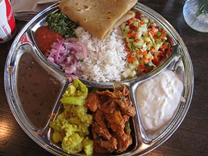 Might as well get a thali while you're there. - LUCKY KT/FLICKR