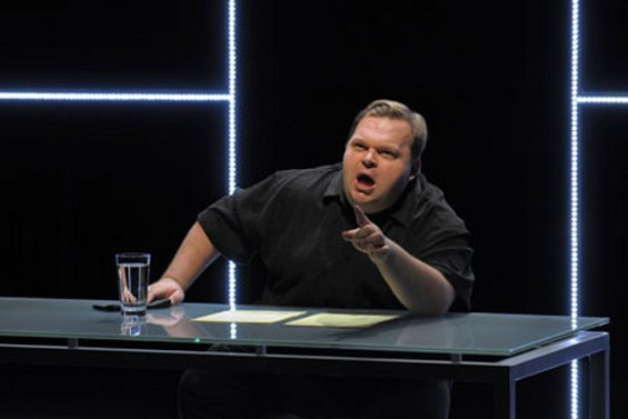Mike Daisey in The Agony and the Ecstasy of Steve Jobs. - KEVIN BERNE