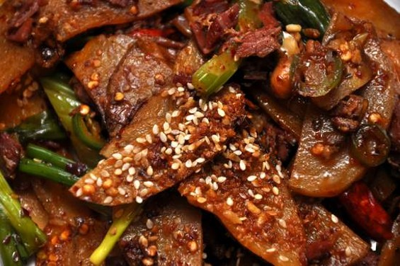 Mission Chinese Food's kung pao pastrami. - IANN IVY