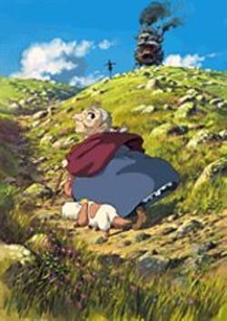 COPY; 2004 NIBARIKI * TGNDDDT - Miyazaki Hayao's heroine Sophie  in Howl's  Moving - Castle.