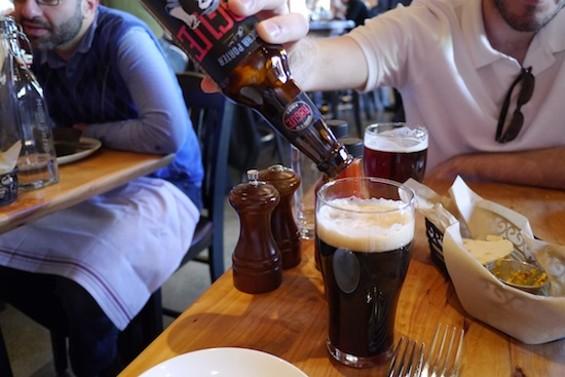 Mocha Porter, Rogue Ales; Lost Dog Red Ale, Napa Smith Brewery