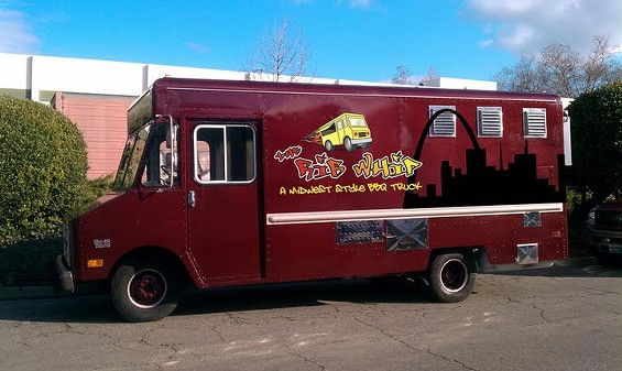 Mockup of The Rib Whip BBQ truck, which is headed for a permanent spot in SOMA later this month. - THE RIB WHIP/FACEBOOK